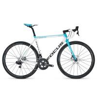 Bicicleta Focus Izalco max Disc Team 22G white/blue/black 2017