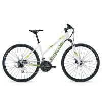 Bicicleta Focus Crater Lake Lite 24G TR white 2017