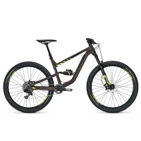 Bicicleta Focus Vice Factory 11G 27.5 brown/fl. yellow 2017