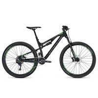 Bicicleta Focus Spine C Lite 22G 27.5 black/fl.green 2017
