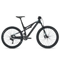 Bicicleta Focus Spine C Pro 22G 27.5 black/lightblue 2017