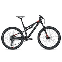 Bicicleta Focus Spine C SL 12G 27.5 black/red 2017