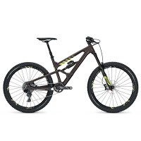 Bicicleta Focus Sam C Factory 11G 27.5 brown/fl.yellow 2017