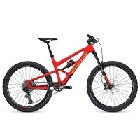 Bicicleta Focus Sam C Team 12G 27.5 red/orange 2017