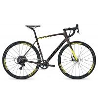 Bicicleta Focus Paralane Factory Apex 1 11G brown/fl.yellow 2017