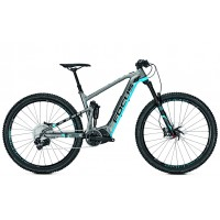 Bicicleta electrica Focus Jam2 Pro Plus 11G 10.5Ah 36V 27.5 grey/blue 2017