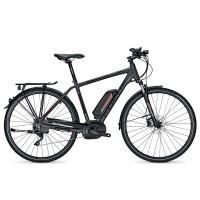 Bicicleta electrica Focus Aventura Pro 10G 13.4Ah 36V DI greymatt 2017