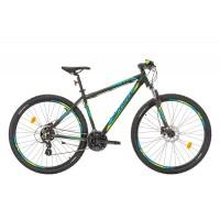 Bicicleta Sprint Maverick 29 HDB negru/albastru 2017-480 mm