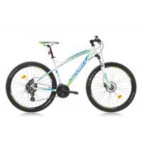 Bicicleta Sprint GTS 27.5 alb/albastru/verde 2017-450 mm