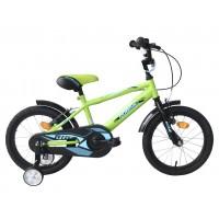 Bicicleta copii Robike Ronny 16 Neon Yellow