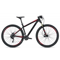 Bicicleta Focus Black Forest LTD 29 20G magicblackmatt 2017 - 460mm (M)