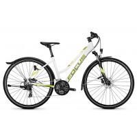 Bicicleta Focus Crater Lake EQP 24G TR 28 white 2018