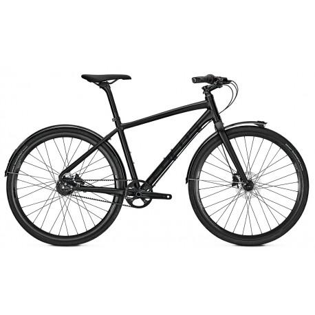 Bicicleta Focus Planet Street 8G DI 28 magicblackmatt 2018
