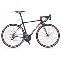 Bicicleta Shockblaze S7 Pro Tiagra negru mat 2018 52 cm