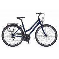 Bicicleta Shockblaze Beverly 21v Lady albastru navy 2018 45 cm