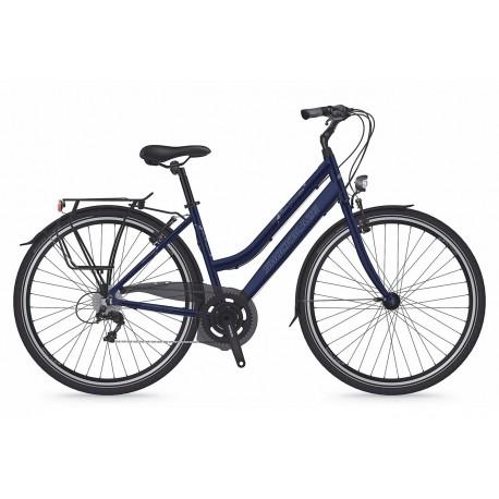 Bicicleta Shockblaze Lucky 6v Lady albastru navy 2018 45 cm