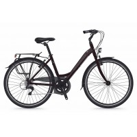 Bicicleta Shockblaze Emotion 6v Lady raisin pearl 43 cm
