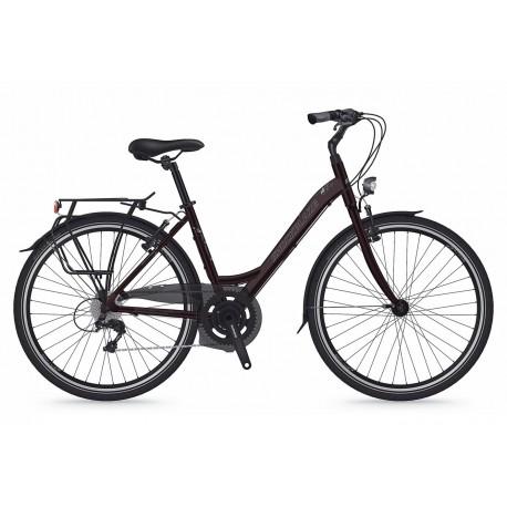 Bicicleta Shockblaze Emotion 6v Lady raisin pearl 43 cm