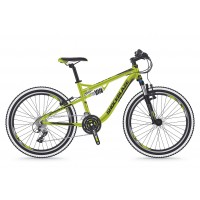 Bicicleta Shockblaze Warrior FSP 24 verde 2018