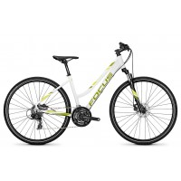 Bicicleta Focus Crater Lake Elite 24G TR 28 white 2018