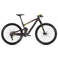 Bicicleta Focus O1E Evo Factory 12G brown/fluo yellowmatt 2018