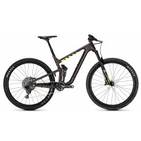 Bicicleta Focus Jam C Factory 12G 29 brown/yellowm 2018