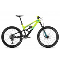 Bicicleta Focus Sam C SL 12G 27.5 lime/aquablue 2018