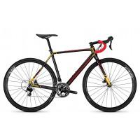 Bicicleta Focus Mares 105 22G carbon-red-orange 2018