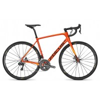 Bicicleta Focus Paralane Ultegra DI2 22G orange sunset 2018