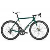 Bicicleta Focus Izalco Max Disc Sram Red E-Tap 22G racing green 2018