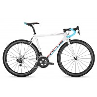 Bicicleta Focus Izalco Max Red E-Tap 22G white/blue/red 2018