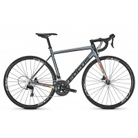 Bicicleta Focus Izalco Race Disc 105 22G battle grey 2018