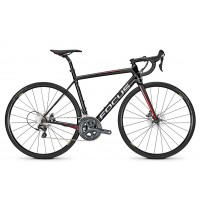 Bicicleta Focus Izalco Race Disc Ultegra 22G black/red/white 2018