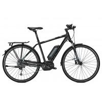 Bicicleta electrica Focus Aventura2 Elite 9G DI 28 blackm    36v/11.0ah 2018