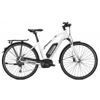 Bicicleta electrica Focus Aventura2 Elite 9G TR 28 whitem 36v/11.0ah 2018
