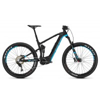 Bicicleta electrica Focus Jam2 Plus 11G 27.5+ blackm/blue 36v/10,5ah 2018