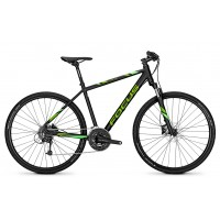 Bicicleta Focus Crater Lake Lite 27G DI 28 magicblackmatt 2018 - 500mm(M)