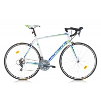 Bicicleta Sprint Monza Race 700x55cm alb/albastru/verde 2016-550 mm