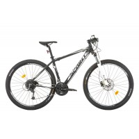 Bicicleta Sprint Apolon Pro 29 negru mat/alb 2017-480 mm