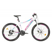 Bicicleta Sprint Apolon Lady 26 alb/violet 2017-440 mm
