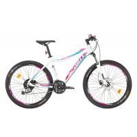 Bicicleta Sprint Apolon Lady 26 alb/violet 2017-440 mm