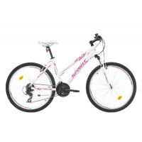 Bicicleta Sprint Karolina 26 alb/roz 2017-430mm