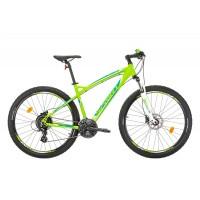 Bicicleta Sprint GTS 27.5 verde/alb/albastru 2017-400 mm