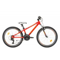 Bicicleta Robike Hat Trick 24 rosu/orange 2017