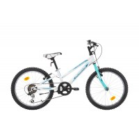 Bicicleta Robike Calipso 24 alb/verde 2017