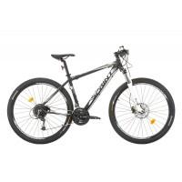 Bicicleta Sprint Apolon Pro 29 negru mat/alb 2017-440 mm