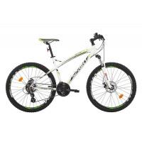 Bicicleta Sprint GTS 26 alb/verde 2017-450 mm
