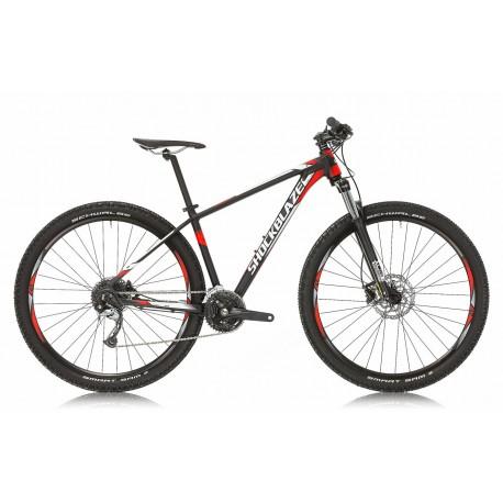 Bicicleta Shockblaze R5 27.5 negru mat 2018 44 cm
