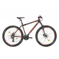 Bicicleta Sprint Maverick 27.5 HDB Negrumat/Rosu 2017 - 480 mm