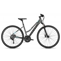 Bicicleta Focus Crater Lake Pro 30G TR 28 irongreymatt 2018